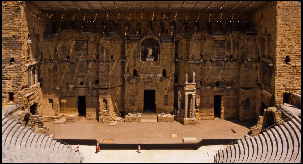 ORANGE Théâtre antique